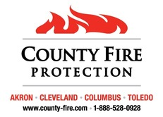 County Fire Protection Logo W Tag
